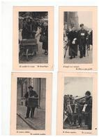 Sterreman, Musicien Ambulant,de Belleman,poesjenellenspel,l'aveugle Et Sa Compagne,straatzanger,kersenverkoper,muzikant - Folklore