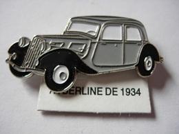 PIN'S BERLINE DE 1934 ESTAMPILLE EDITIONS ATLAS - Pin's