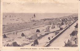 CPA  - COUTAINVILLE (Manche) - La Plage Et Promenoir Chausey - France