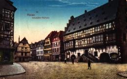 Hanau, Altstädter Rathaus, Feldpost 1918 Nach Coburg In Thüringen - Hanau