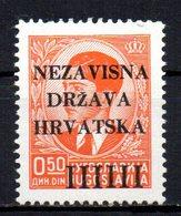 CROATIA 1941 MINT MNH - Croatie