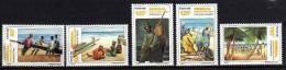 Sénégal N° 643 / 47 XX Retour De Pêche à Kayar  La Série Des 5 Valeurs  TB - Senegal (1960-...)