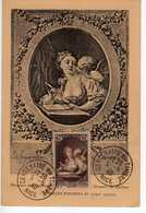 Carte Maximum Avec N°446 Musée Postal Oblitérée Nice 5/5/40 Centenaire Du Timbre  Cote Yvert : C4   120E   RRR - Maximum Cards