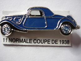 PIN'S 11 NORMALE COUPE DE 1938 ESTAMPILLE EDITIONS ATLAS - Pin's