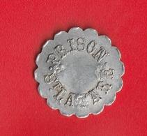 """MONNAIES DE 1 F """" PRISON St LAZARE """"  (Paris) 3 Contremarques - Monetary / Of Necessity"""