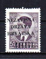 CROATIA 1941 NO GUM - Croatia