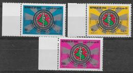 Timbres De L'Iraq Neufs Sans Charniére, MINT NEVER HINGED, 25e Congrès International De Médecine Et De Pharmacie Militai - Iraq