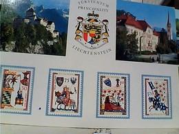 LIECHTENSTEIN VADUZ HAUPTORT LANDES   STAMP TIMBRE  SELO 30 BALZERS ST NIKOLAUS GX5622 - Liechtenstein