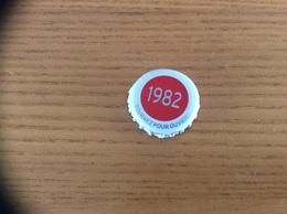 """Capsule De Bière Série Années Kronenbourg """"1982"""" Dap - Beer"""