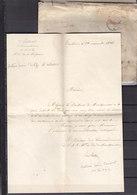 1946 CABINET DU ROI SERVICE MONSEIGNEUR DUC DE MONTPENSIER (SIGNE LATOUR?) - Autographes