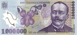 Romania P.116 1000000 Lei  2003  Unc - Romania