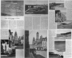 """VIEILLES VILLES De FLANDRES Et D'ARTOIS  """" CALAIS  """"  1935 - Picardie - Nord-Pas-de-Calais"""