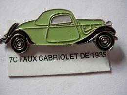 PIN'S FAUX CABRIOLET  DE 1935 ESTAMPILLE EDITIONS ATLAS - Pin's