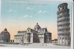PISA DUOMO BATTISTERO E CAMPANILE VG AUTENTICA 100% - Pisa