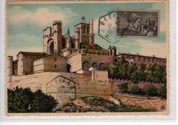 Carte Maximum Avec N°448 Languedoc Oblitérée Béziers 15/3/40  Cote Yvert : D4  75E - Maximum Cards