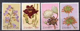 ZAMBIE  Timbres Neufs ** De 1983 ( Ref  2424 )  Fleurs - Zambie (1965-...)