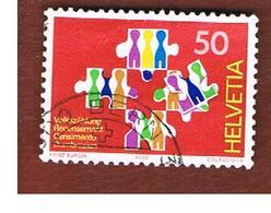 SVIZZERA (SWITZERLAND) -   SG 1218  -     1990 POPULATION CENSUS                    - USED - Svizzera