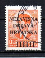 CROATIA 1941 CANCELLED - Croatie