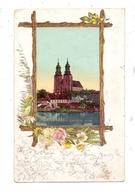 POSEN - GNESEN / GNIEZNO, Dom, Passepartout-Karte 1900 - Posen