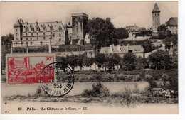 Carte Maximum Avec N°449 Pau Oblitérée Centenaire Naissance Henri IV 28/6/53 - Maximum Cards