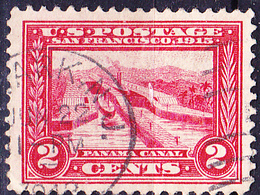 USA - Pedro-Miguel-Schleusen, Panamakanal (MiNr: 204 A) 1913 - Gest Used Obl - Used Stamps
