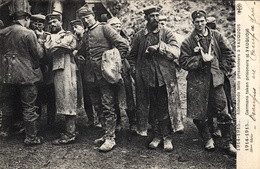 Thématiques 2018 Commémoration Fin De Guerre 1914 1918 Vauquois Allemands Fait Prisonniers - Guerre 1914-18