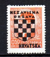 CROATIA 1941 MINT MH - Croatie