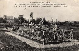 Thématiques 2018 Commémoration Fin De Guerre 1914 1918 Maurupt Le Montois Tombes De Soldats Français - War 1914-18