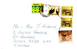 ZIMBABWE. Belle Enveloppe Ayant Circulé. - Zimbabwe (1980-...)