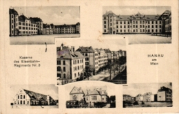 Hanau, Kaserne Des Eisenbahn-Regiments Nr. 3, 1920 - Hanau