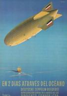 1954692En 2 Dias Através Del Océano Deutsche Zeppelin-Reederei. (sehe Ecken) - Dirigibili