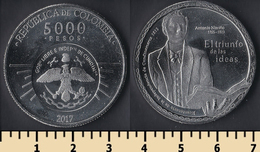 Colombia 5000 Pesos 2017 - Colombie