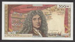 500 NF Molière 60/1 Du 2-7-1959 En SPL - 1959-1966 ''Nouveaux Francs''