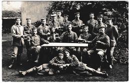 Feldpost 1916 Choppe De Bière Beer Becher Bier Пиво Deutschland WW1 Première Guerre Mondiale Carte Photo Bayern - Bières