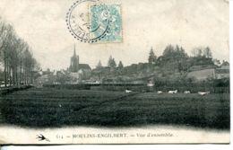 N°65718 -cpa Moulins Engilbert -vue D'ensemble- - Other Municipalities