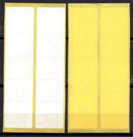 Carnet Fictif Sans Impression Couverture Vierge TF3Ab Tirage Du 11 01 99 - Fictifs