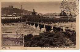 Carte Maximum Avec N°450 Lyon Oblitérée Expo Philat Lyon-Brest 1943  Cote Yvert : C2  55E - Maximum Cards