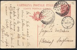 ITALY ITALIA ITALIEN 1922. POSTCARD CARTOLINA POSTALE, SCIGLIANO COSENZA - Altri