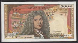 500 NF Molière 60/6 Du 2-1-1964 En SUP+ - 1959-1966 Nouveaux Francs