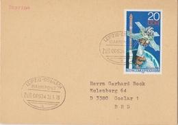 "3 190 Karte Bahnpost ""LEIPZIG-EISENACH"" 1978 - DDR"