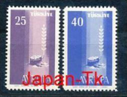 TÜRKEI Mi.Nr. 1610-1611 Europa CEPT- 1958- MNH - 1958