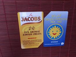 2 Phonecards Poland Used - Poland