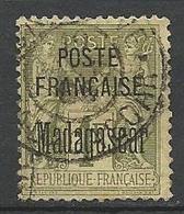 MADAGASCAR N° 21 OBL / Signé CALVES / - Madagascar (1889-1960)