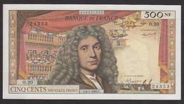 500 NF Molière 60/8 Du 8-1-1965 En Pr.SPL - 1959-1966 Nouveaux Francs