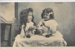 Thèmes, ENFANTS, La Dinette, Scan Recto-Verso - Scènes & Paysages
