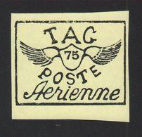 Reproduction Guyane Poste Aérienne N° 10A Jaune - Sonstige