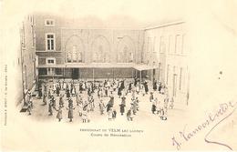 Velm : Pensionnat De Velm Lez Landen --- Cours De Récreation 1904 - Sint-Truiden