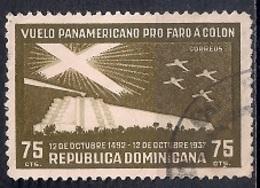 República Dominicana 1937 - Airmail - Pan-American Goodwill Flight - Dominicaine (République)