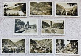8  Ansichtskarten Von ANDORRA Aus Den 50 Jahren - Andorra