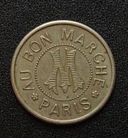 """Jeton De Nécessité Module De 1Fr """"Au Bon Marché / Paris / ABM"""" Grands Magasins Parisiens - Monetary / Of Necessity"""